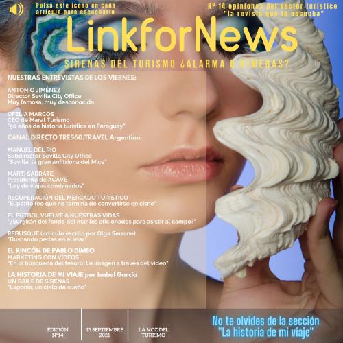 LINKFORNEWS, NÚMERO 14. LAS SIRENAS DEL TURISMO ¿ALARMA O KIMERA?